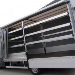 Przesuwne boki, dach stały, City Transport