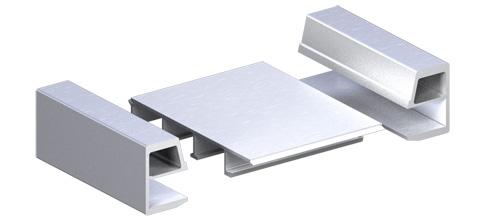 Aluminiowe profile kontenera