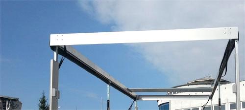 Słupki boczne, systemy podnoszenia dachu