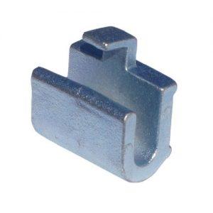 Zawias kwadratowy, o11/25mm, hak, ocynk zdjęcie numer 1