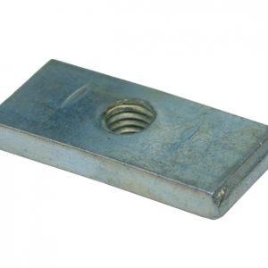 Płytka gwintowana 40×18, ocynk, BZ zdjęcie numer 1